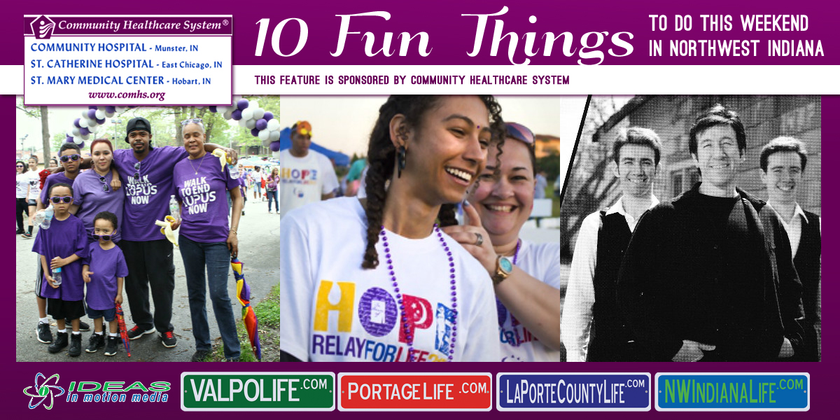 10 Fun Things to Do this Weekend in Northwest Indiana: May 13-15, 2016