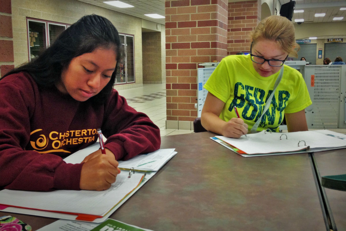 #1StudentNWI: The All New Year at Chesterton High School
