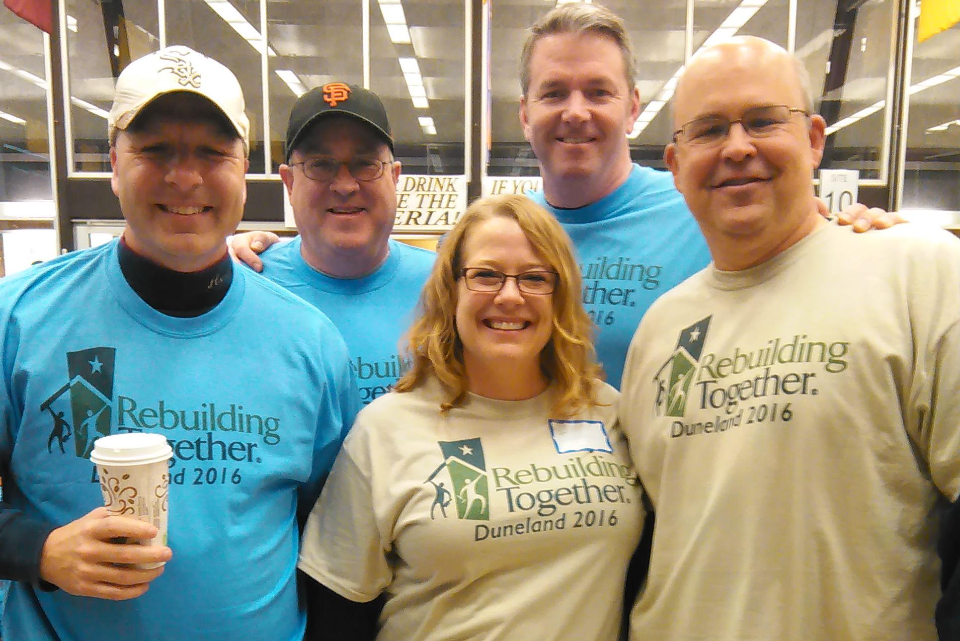 Community Comes Together for Rebuilding Together Duneland