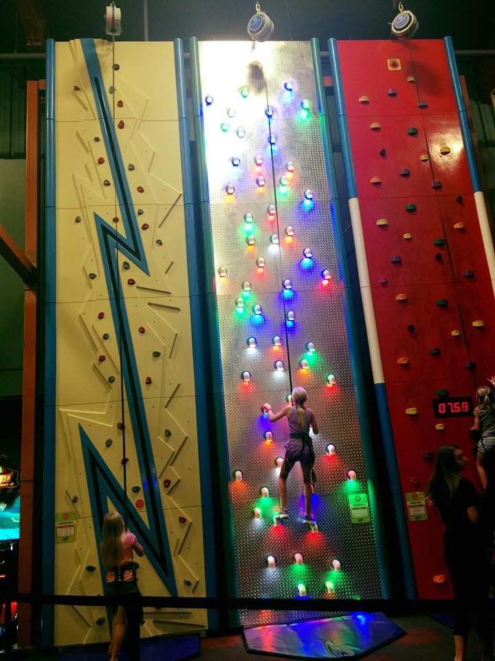 Take On Jak's Warehouse's New Rock Wall Challenge
