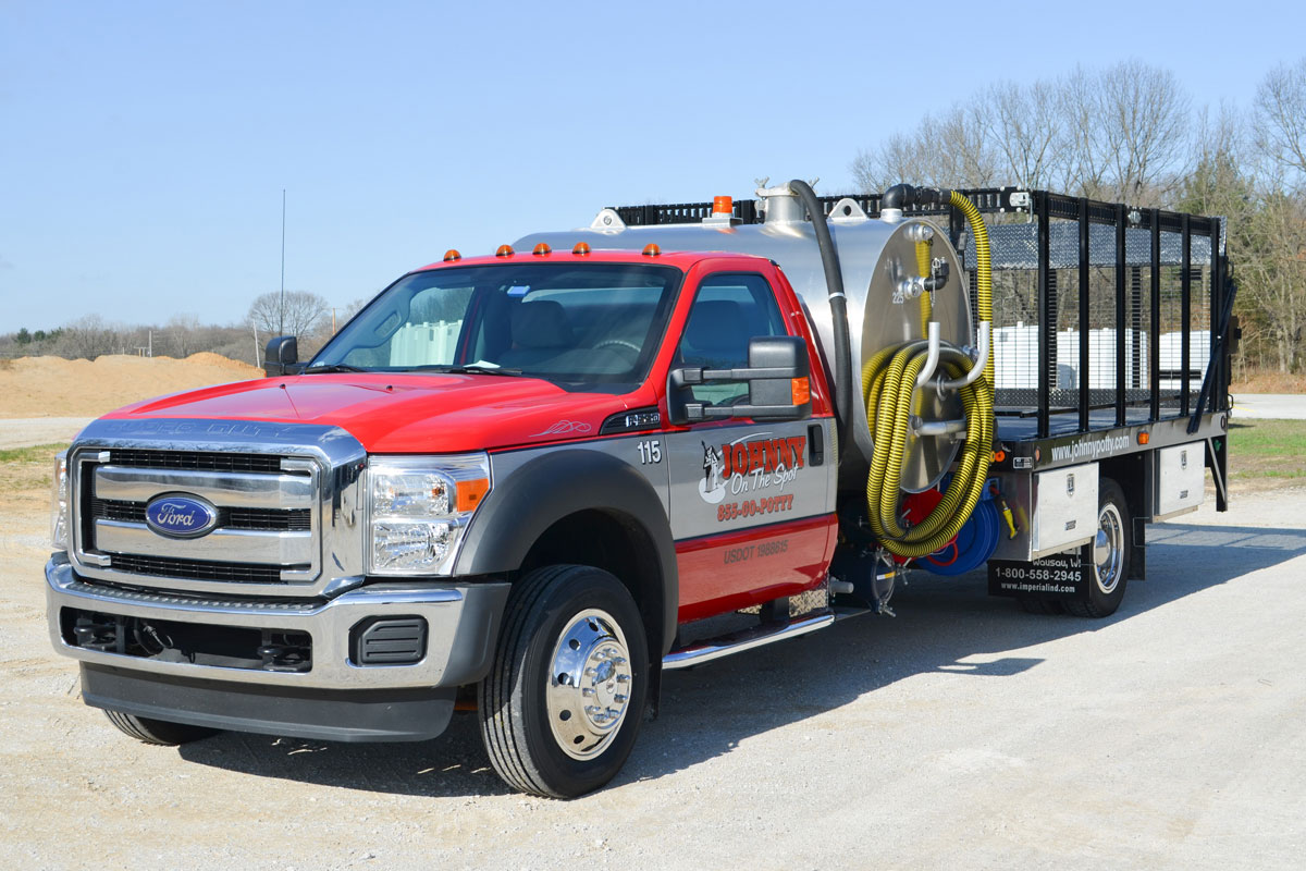 Johnny On The Spot: Trucks that Deliver & Maintain the Quality You Expect