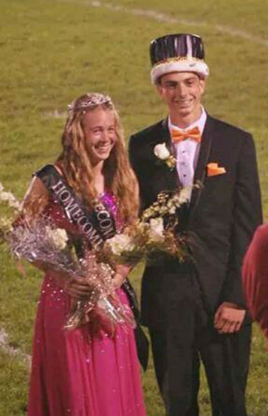 Tara Beere Named Homecoming Queen at Kankakee Valley High School