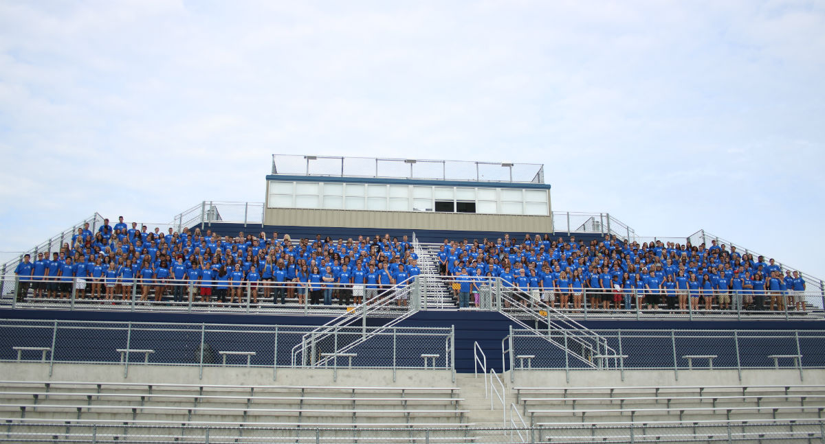 Incoming Freshmen Get Warm Welcome at Lake Central 'Rush'