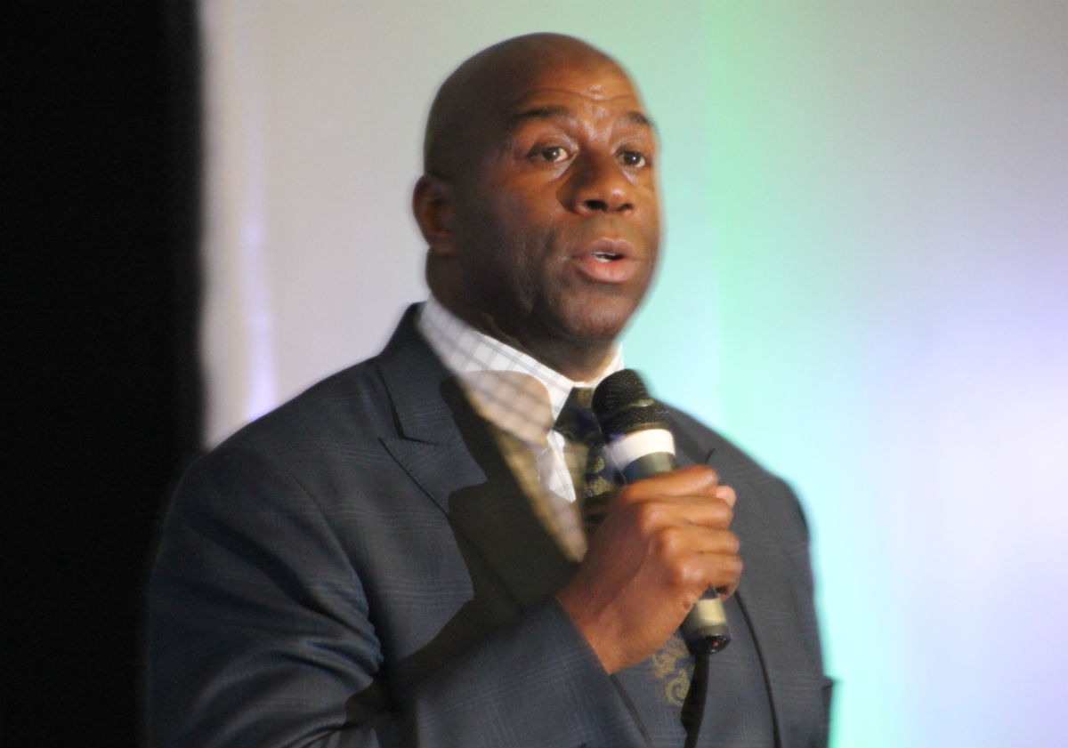 """Dreams and Transformation Continues with Earvin """"Magic"""" Johnson"""