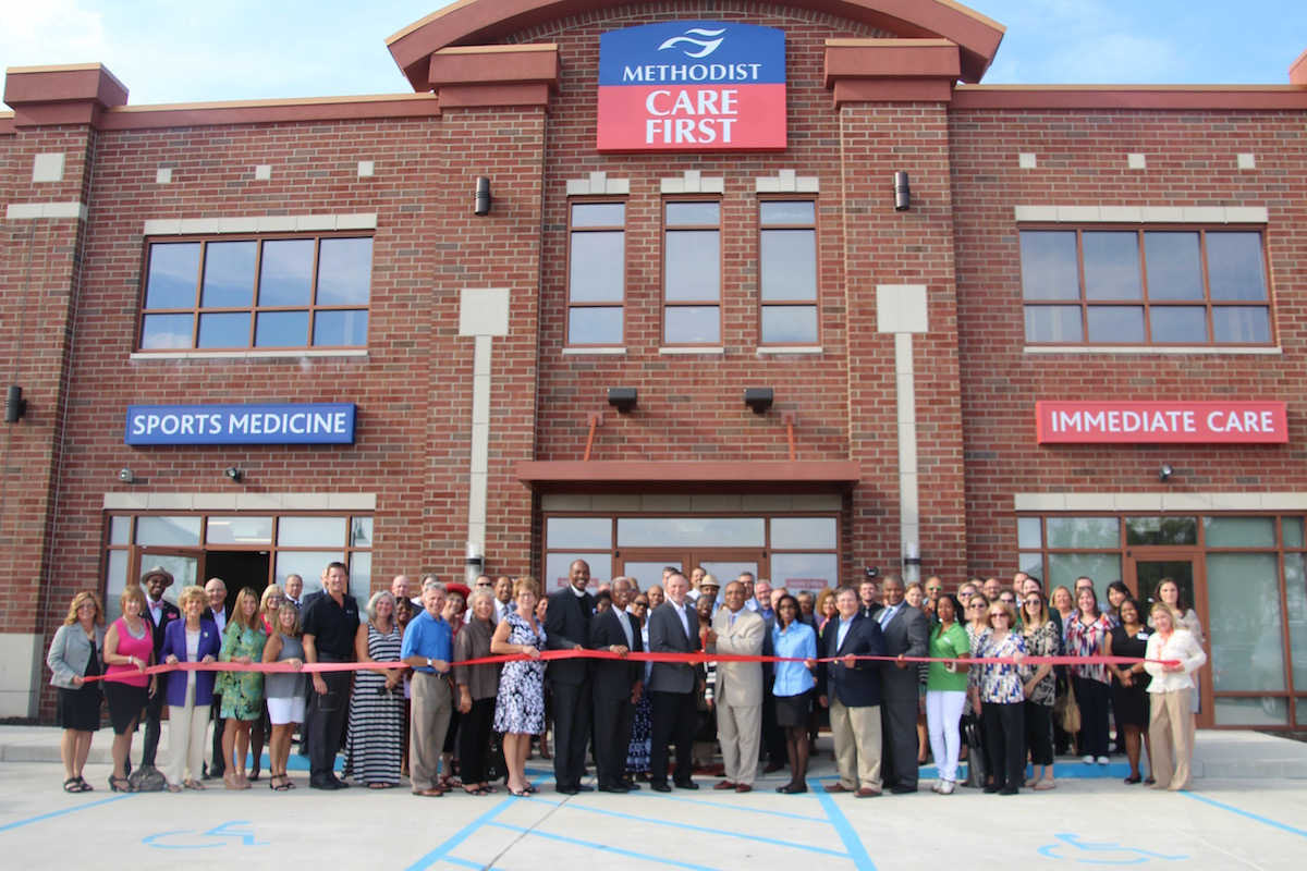 Methodist Hospitals Holds Ribbon Cutting for New Immediate Care Center in Crown Point