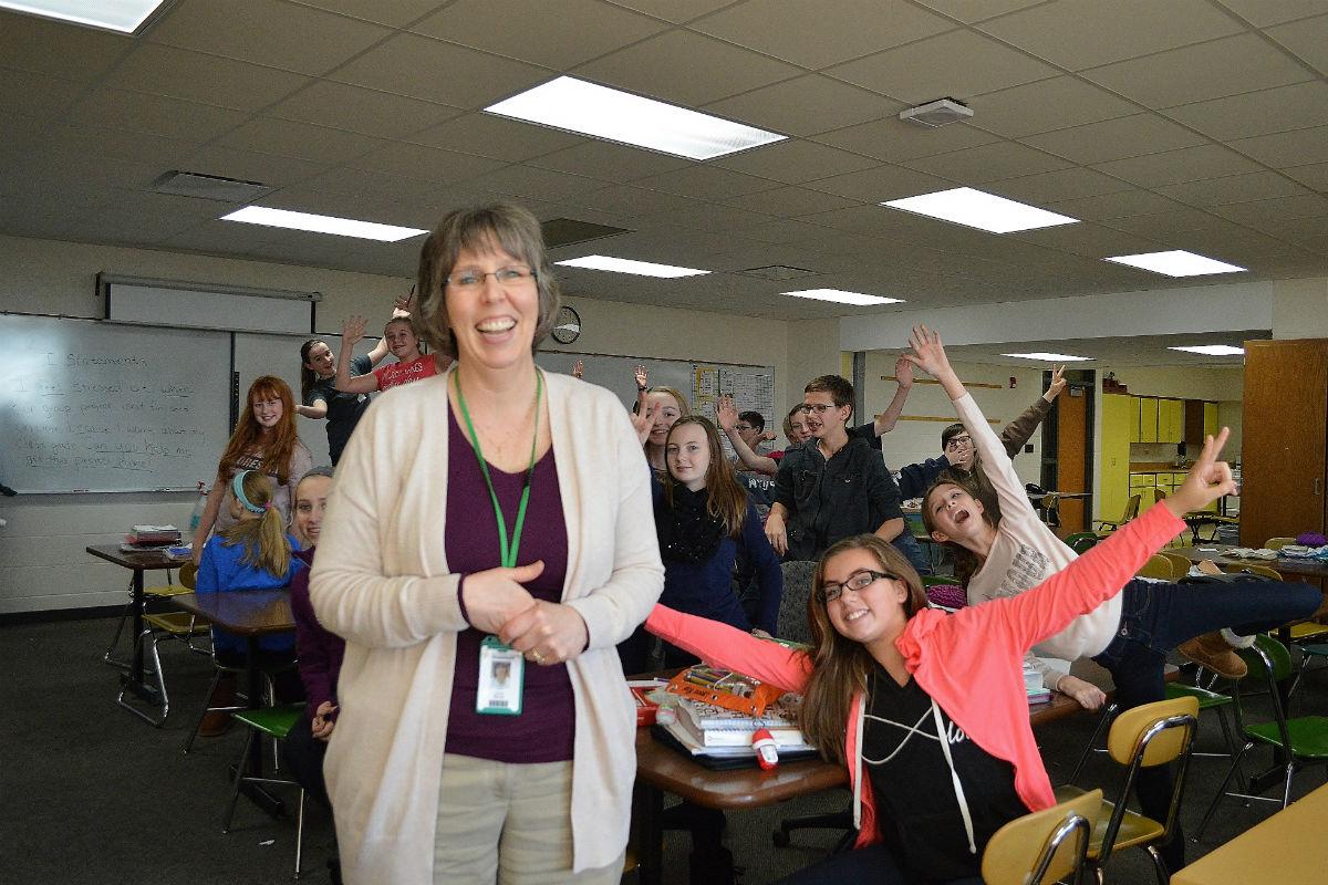 #1StudentNWI: Ringing in the Holiday Season at Morgan Township High School