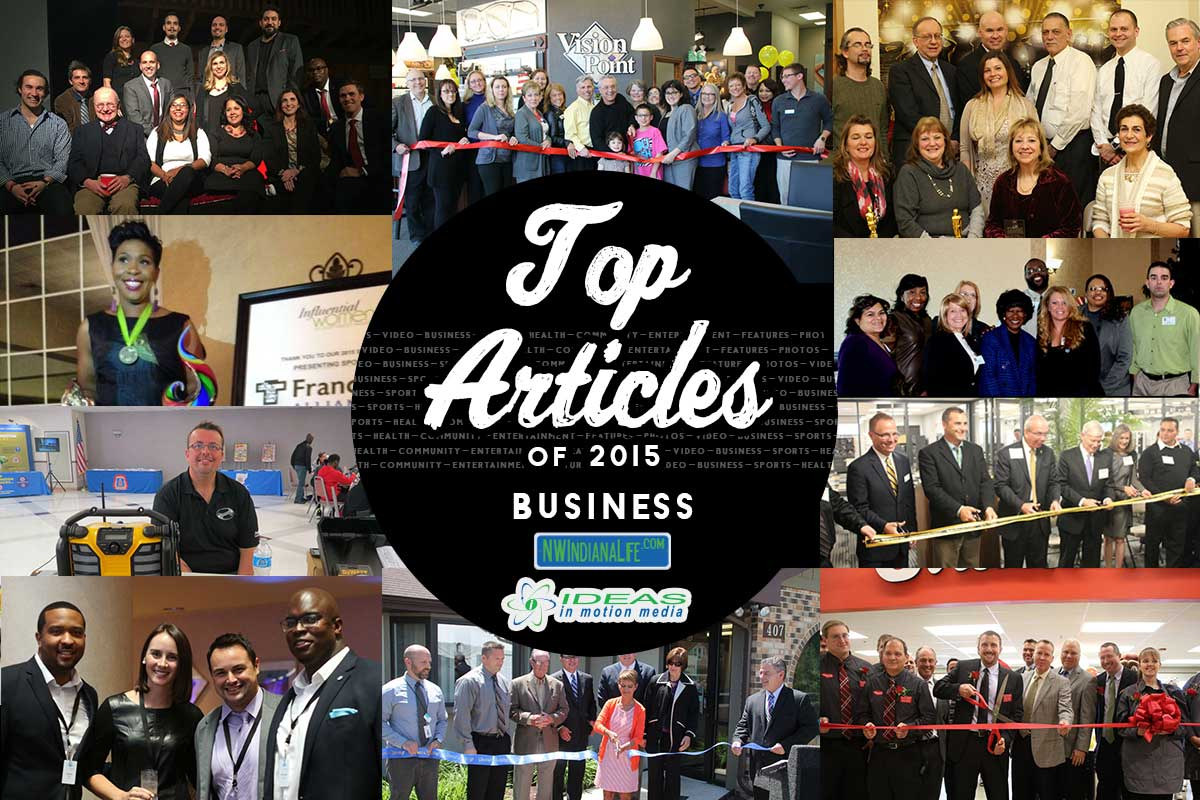 Top 10 Business Stories on NWIndianaLife in 2015