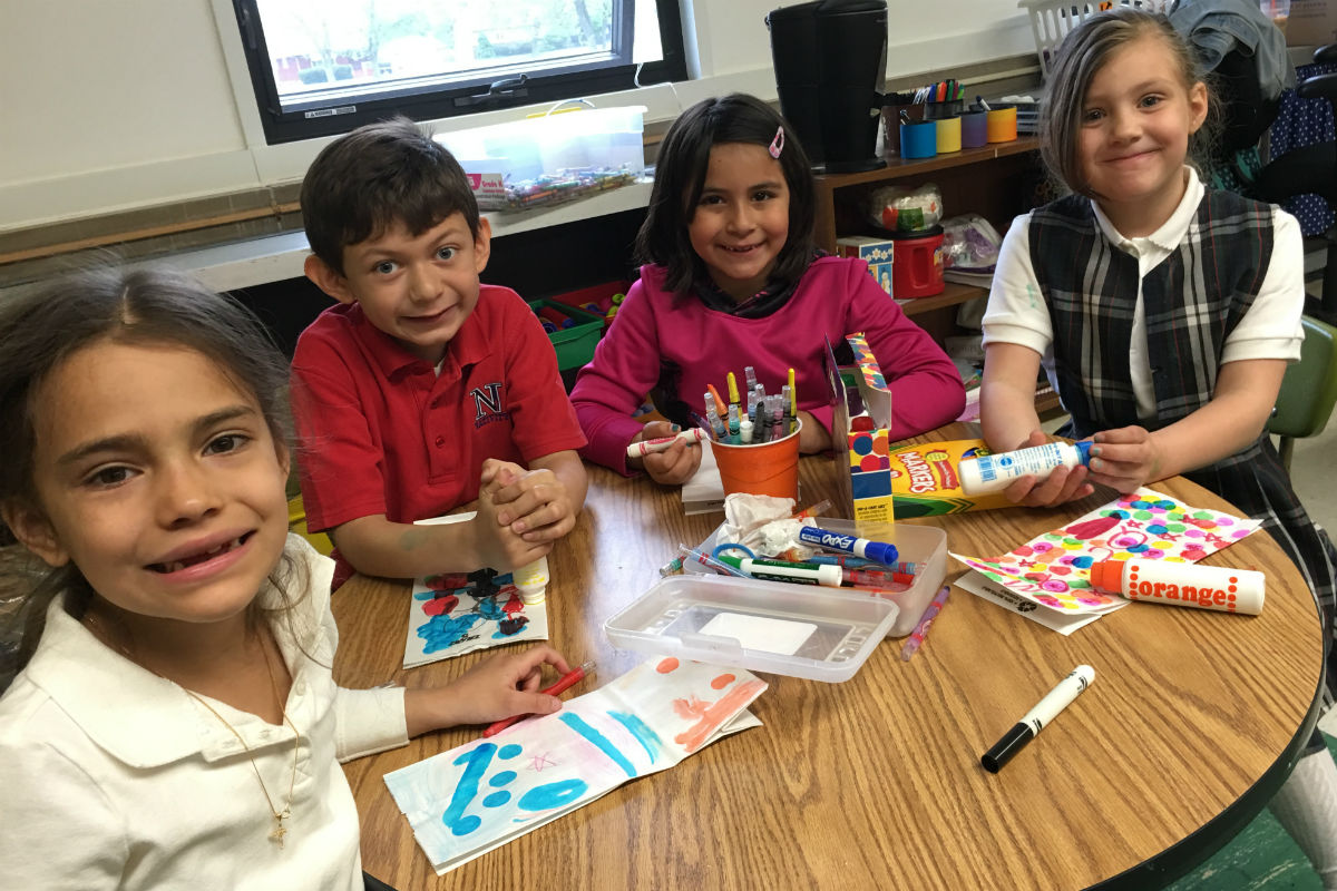 Nativity of Our Savior School and St. John Bosco Celebrate Unity Through Pen Pals and School Visit