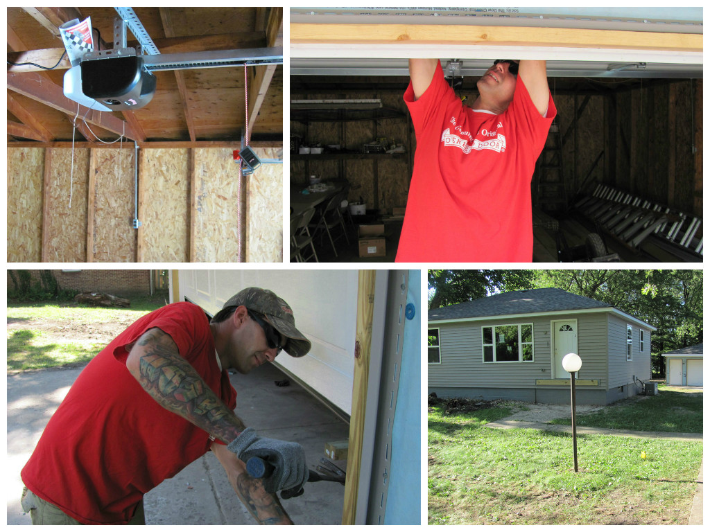 Overhead Door of NWI Donates to Habitat for Humanity in 2015
