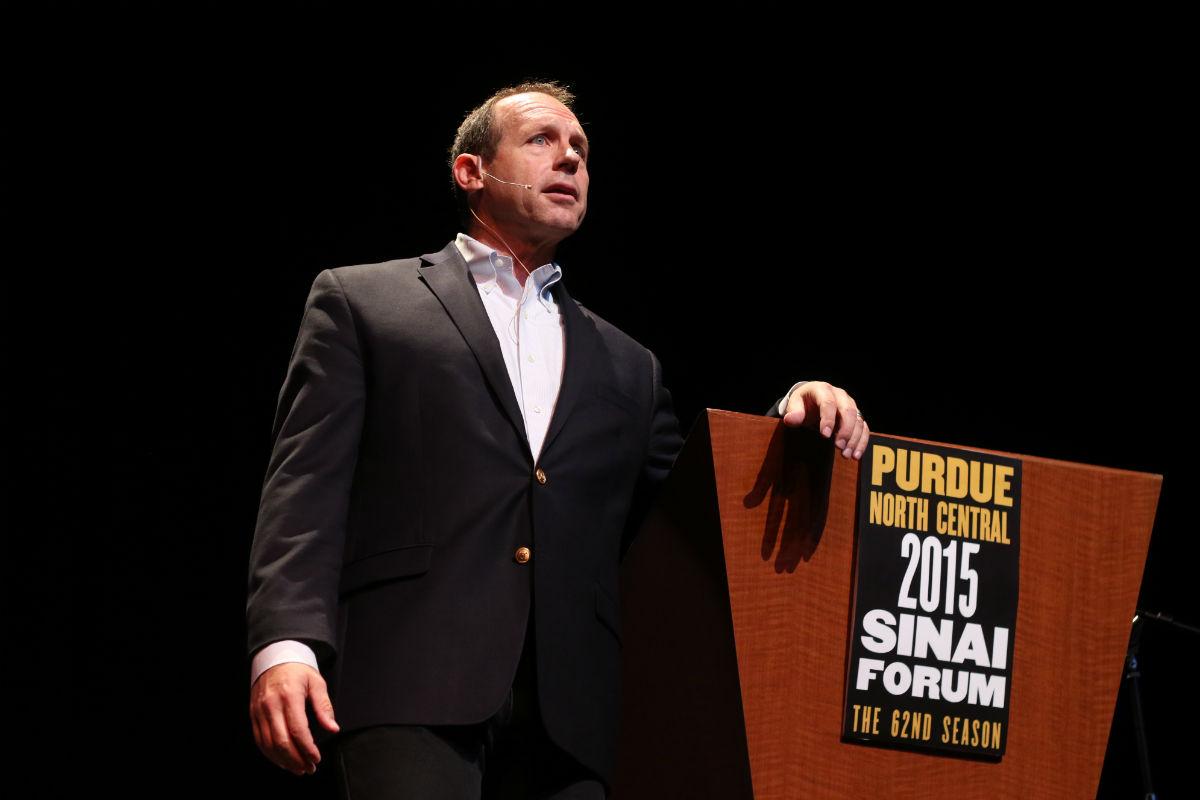 Second Sinai Forum Hosts Famous Speaker David Marquet