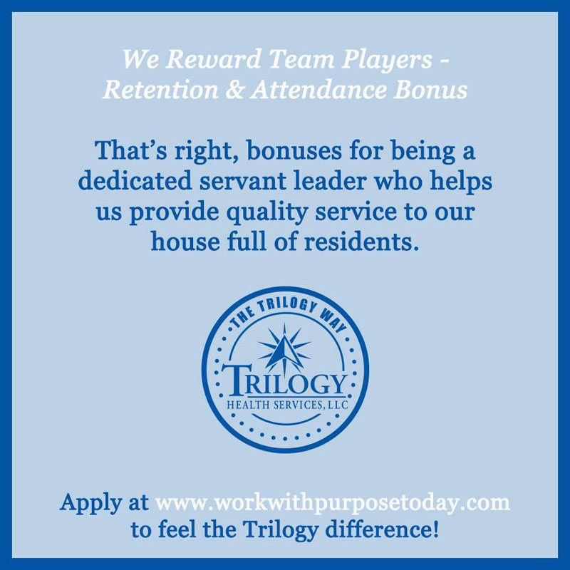Trilogy Employee Benefits Make a Difference!