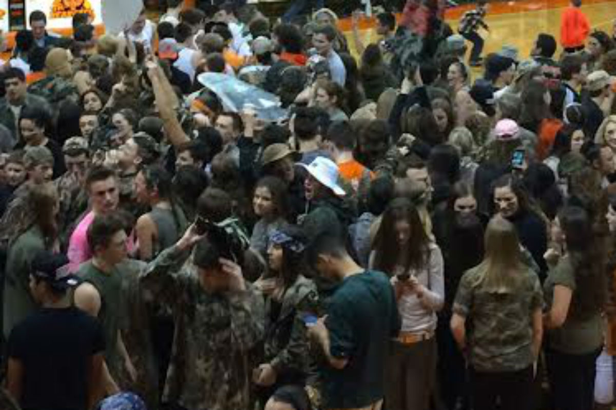 #1StudentNWI: Snow's Out, School's In at Wheeler High School