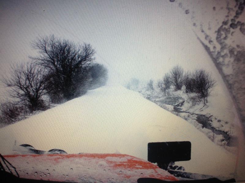 Riding Shotgun on a Porter County Snowplow