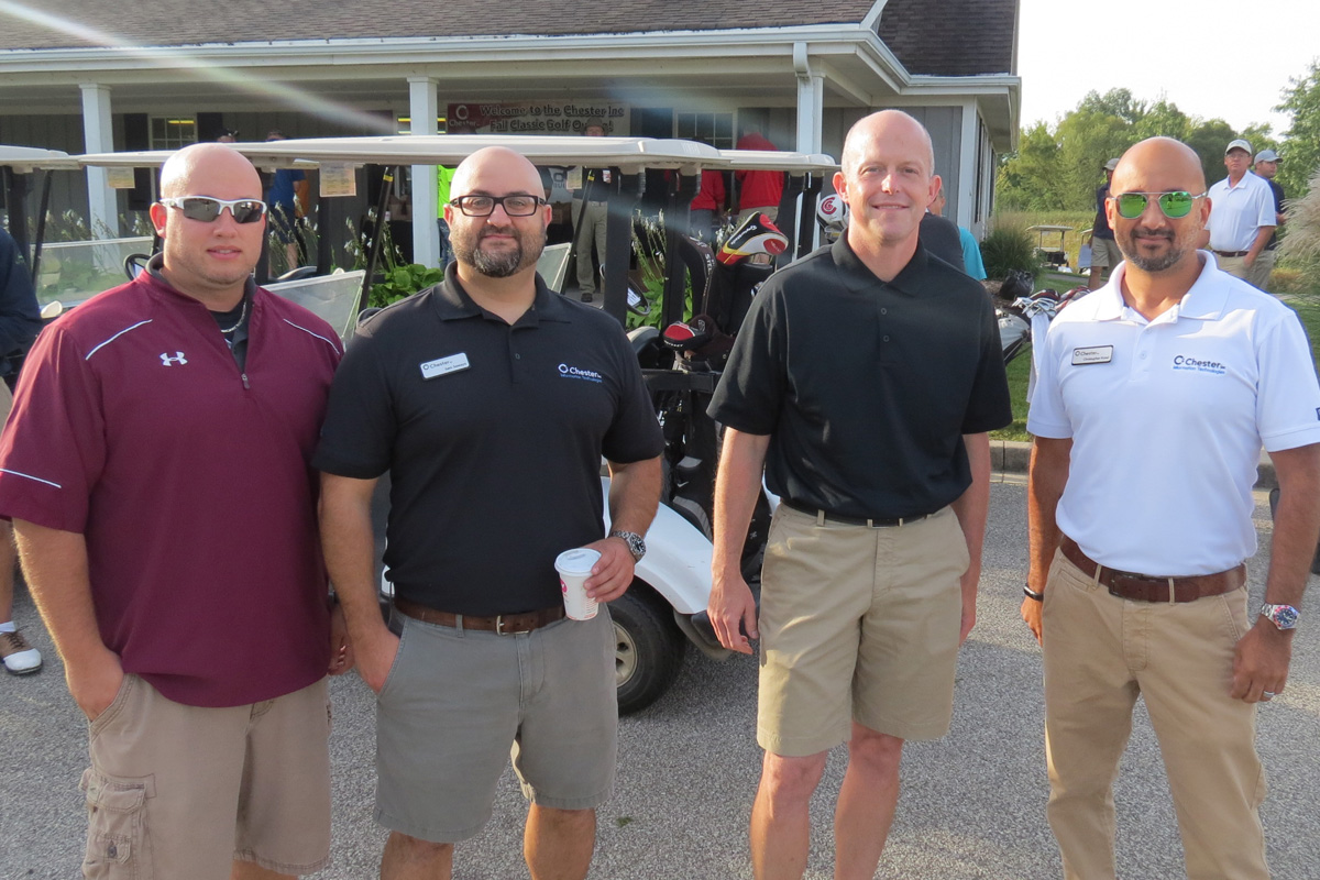 2016 Chester Inc. Golf Outing Brings Out the Camaraderie in Business Relationships