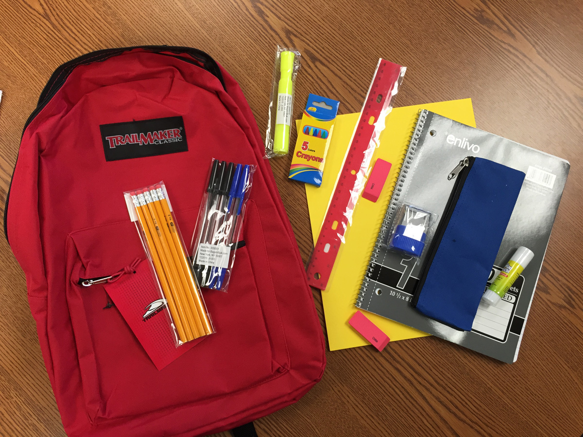 NorthShore Health Centers Providing Free Backpacks to Students at their 'Back To School Health Fair'