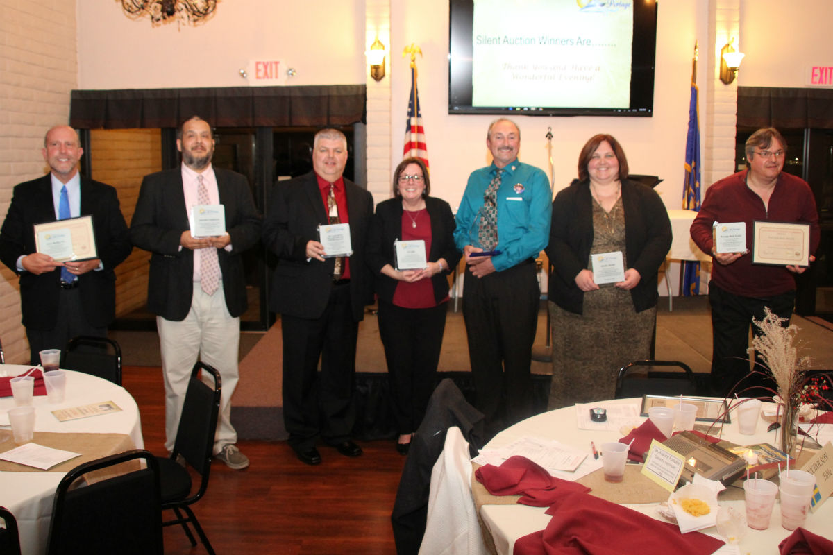 Portage Chamber of Commerce Holds its Annual Awards Banquet