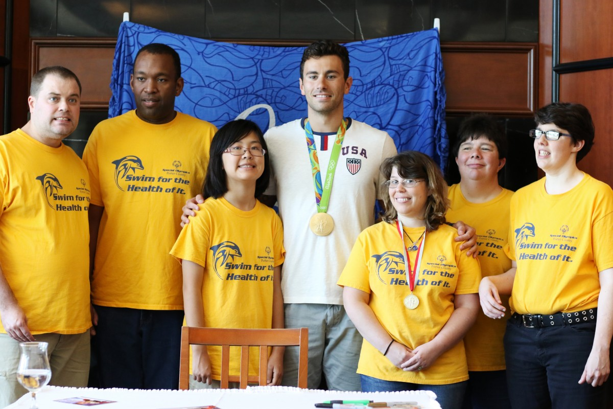 Sand Creek Country Club Hosts Blake Pieroni's Olympic Gold Celebration