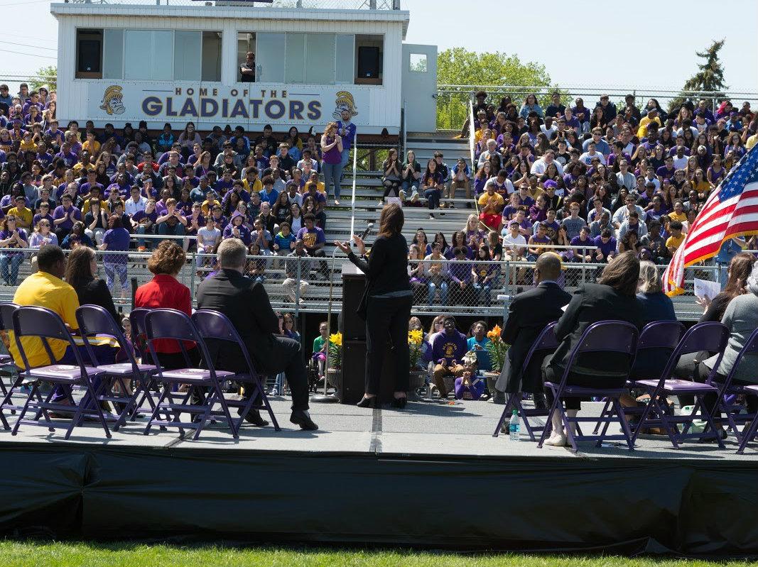 #1StudentNWI: Hammond Gavit Encourages Success