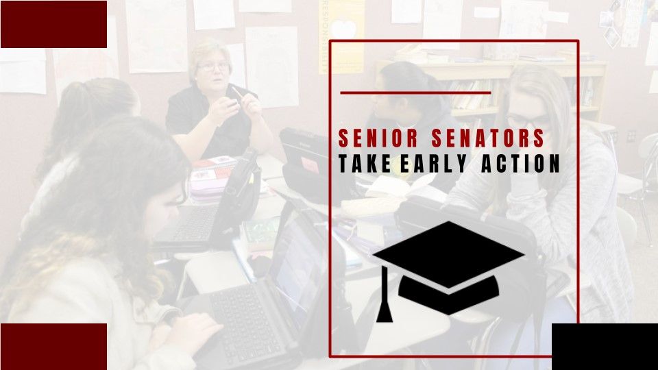 #1StudentNWI: Senior Senators Take Early Action for College Choices