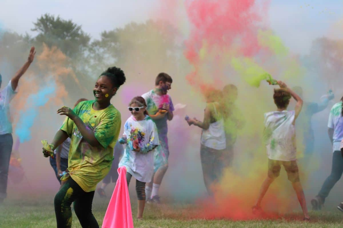 Sojourner Truth House Color Walk paints the town