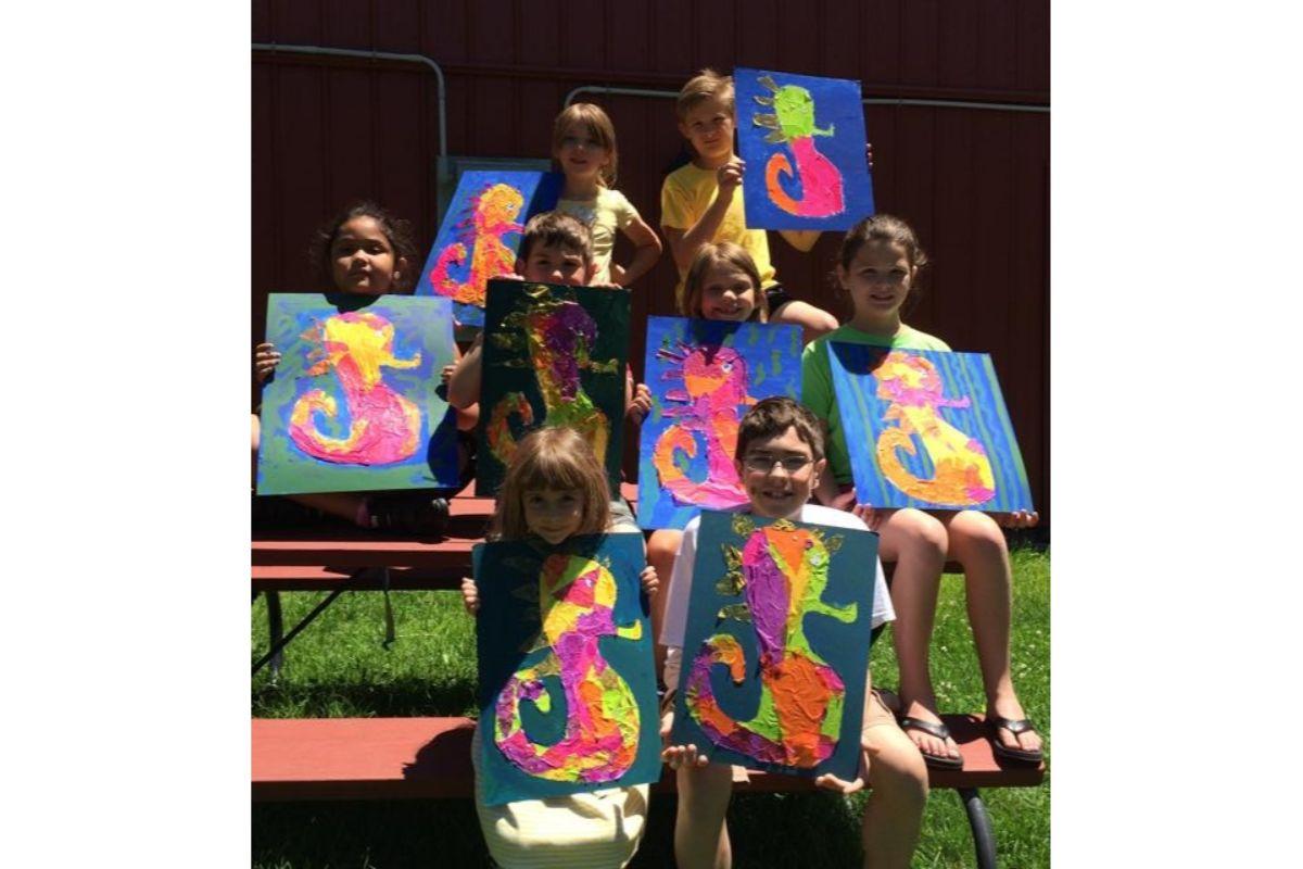 Art Barn School of Art offers an array of summer camps