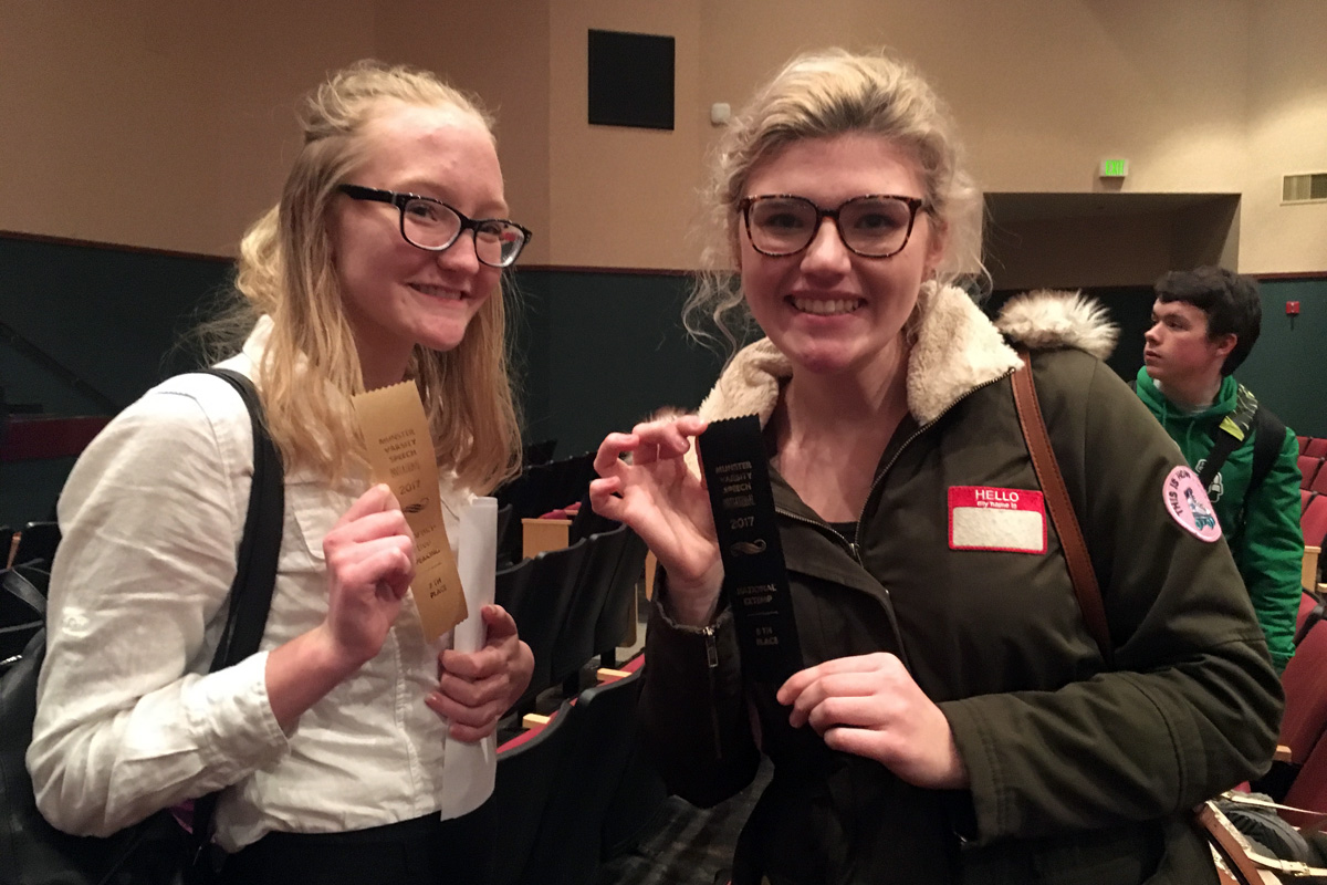 #1StudentNWI: Speech and Debate Success, and Say Yes to the Dress at Crown Point High School