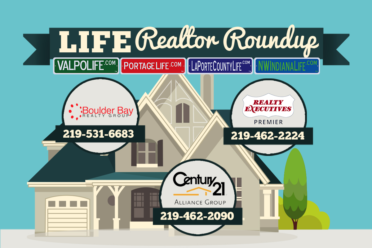 NWI Realty RoundUp December 2017: Homes with Counters for Holiday Pot Lucks