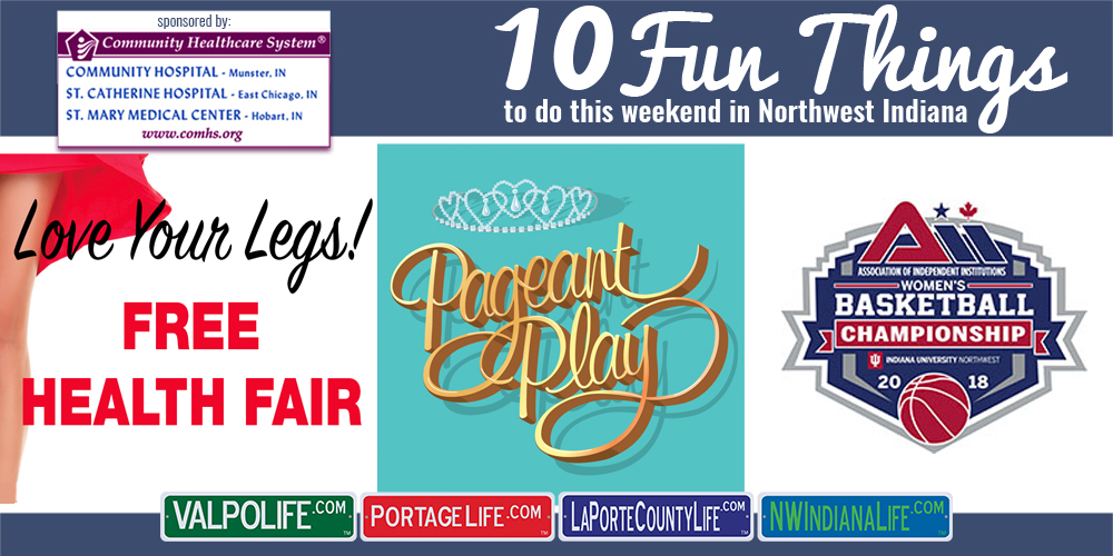 10 Fun Things to Do in NWI for February 23rd – 25th, 2018