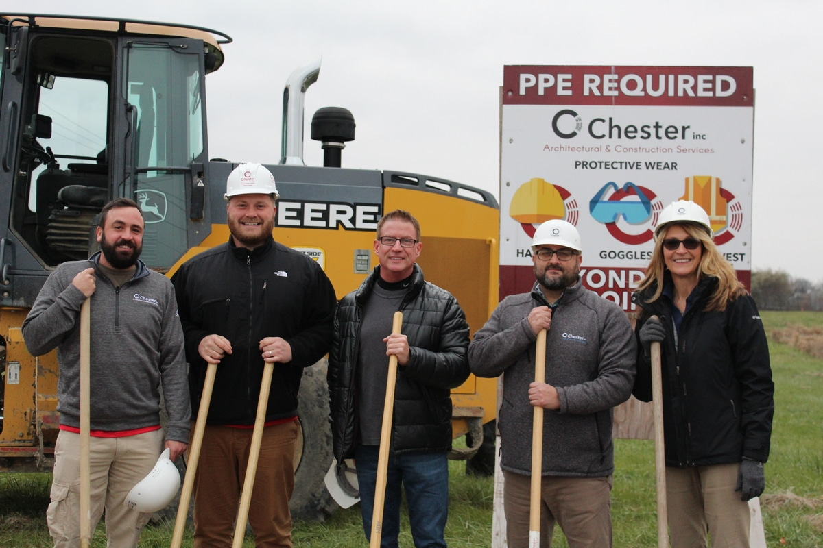 Chester Inc. Groundbreaking for First Tech Credit Union in Cedar Lake