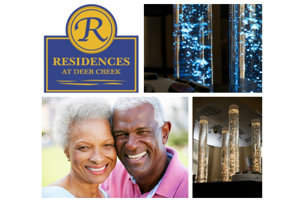 Residences at Deer Creek Improves Quality of Life for Residents with Dementia with Snoezelen Therapy