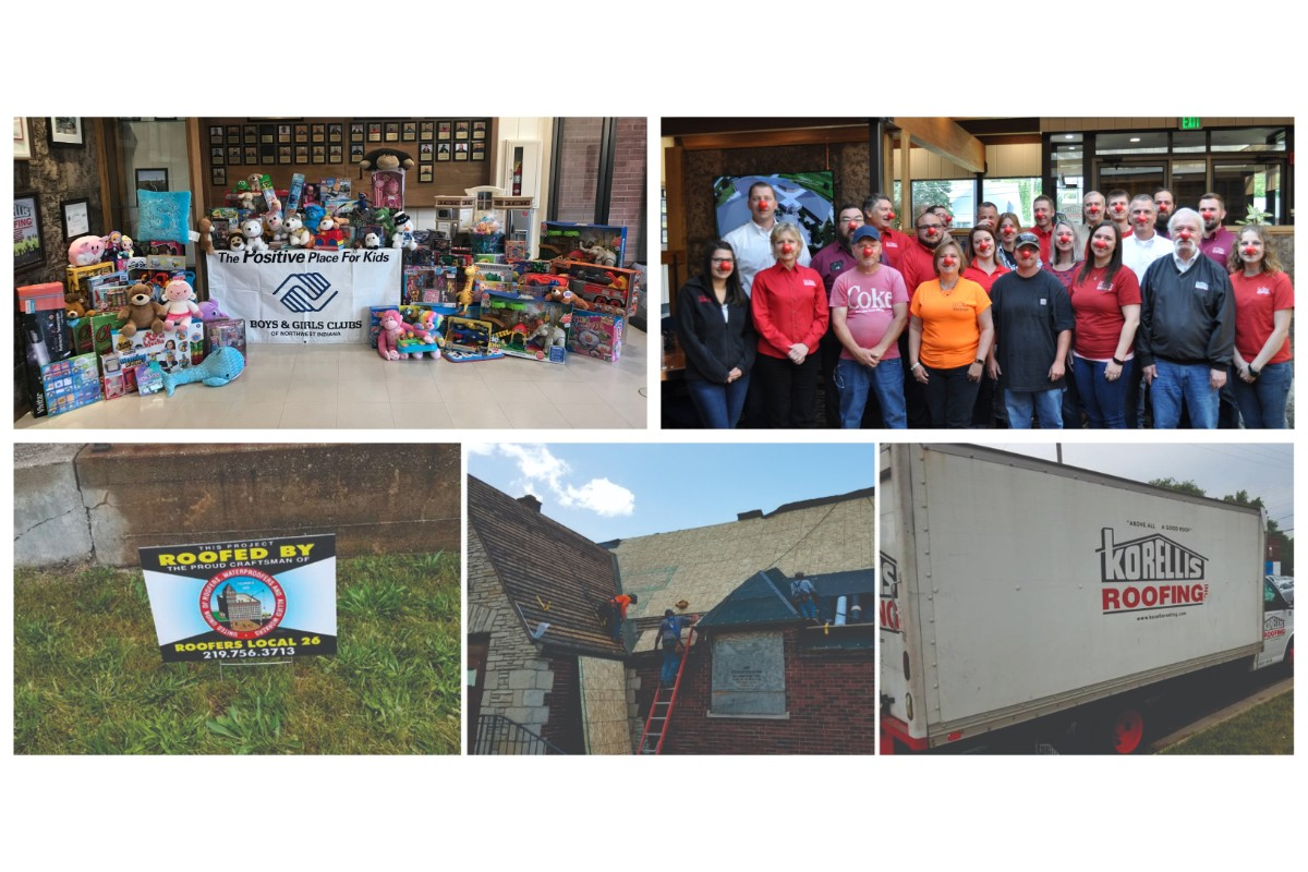 Korellis Roofing Makes 'Giving Back' Their Number One Priority
