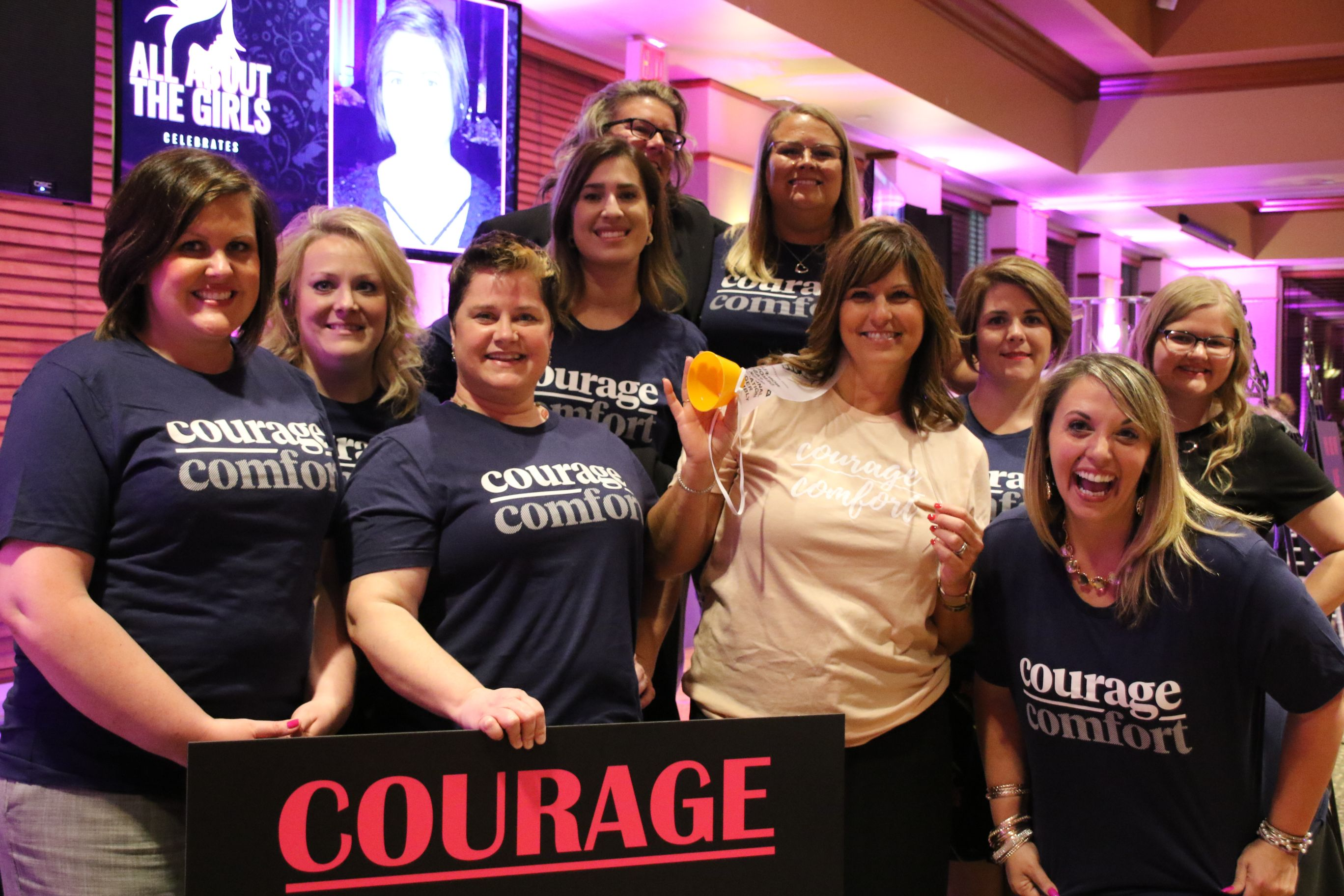 Speakers celebrate Courage Over Comfort at All About the Girls Part 5