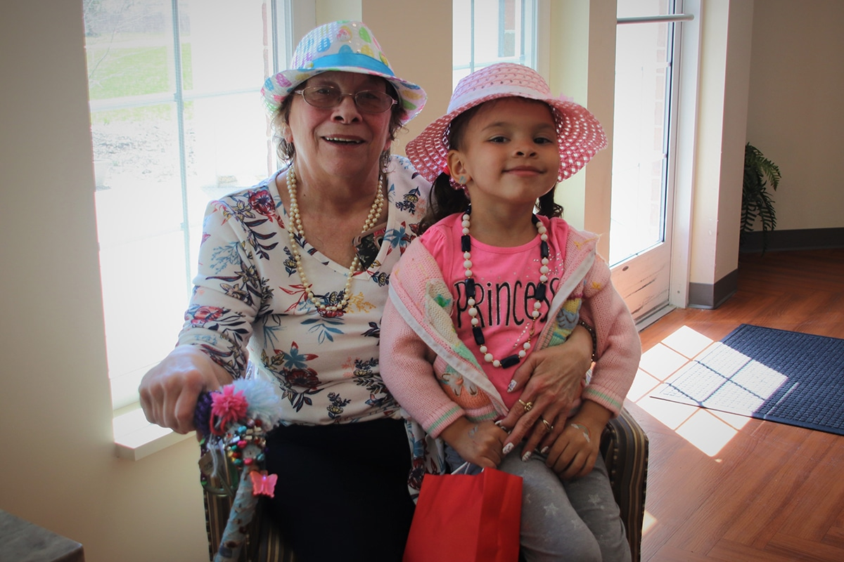 Getting into a little trouble with Nora Proksch of Belvedere Senior Housing