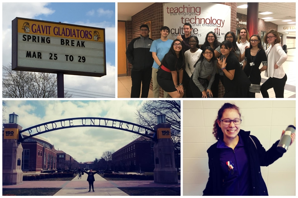 #1StudentNWI: Students are eager for spring break at Gavit High School