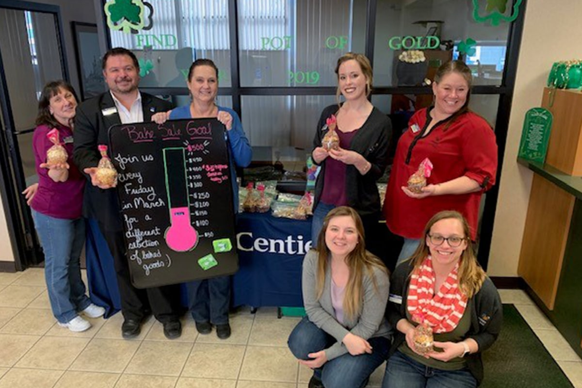 Centier Bank preps for Relay For Life, hosts weekly bake sale