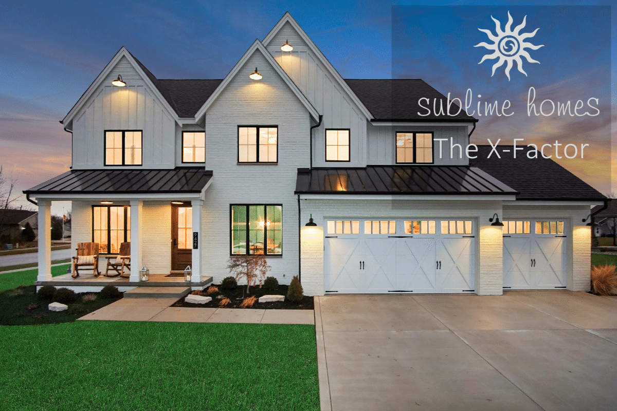 Sublime Homes: The X Factor