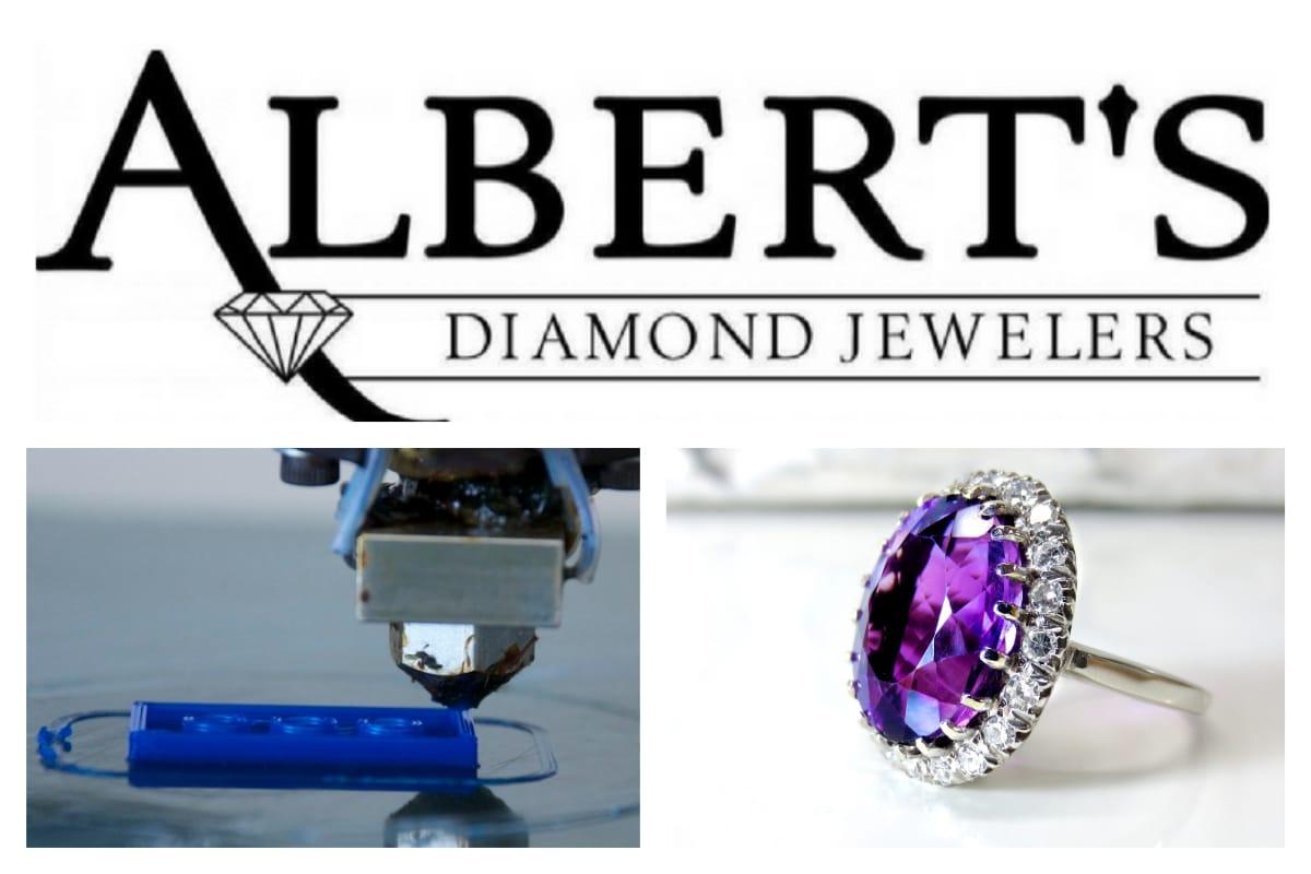 Albert's Diamond Jewelers revolutionizes custom jewelry experience with 3D printing