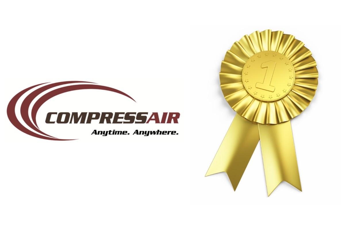 CompressAir Receives Prestigious Award Three Years in a Row