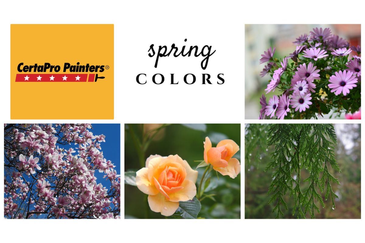 Certa Pro Painters of Northwest Indiana encourage spring colors to inspire and uplift spaces