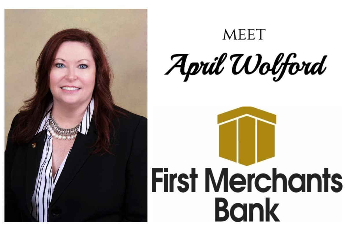 First Merchants' April Wolford rallies those around her to give back