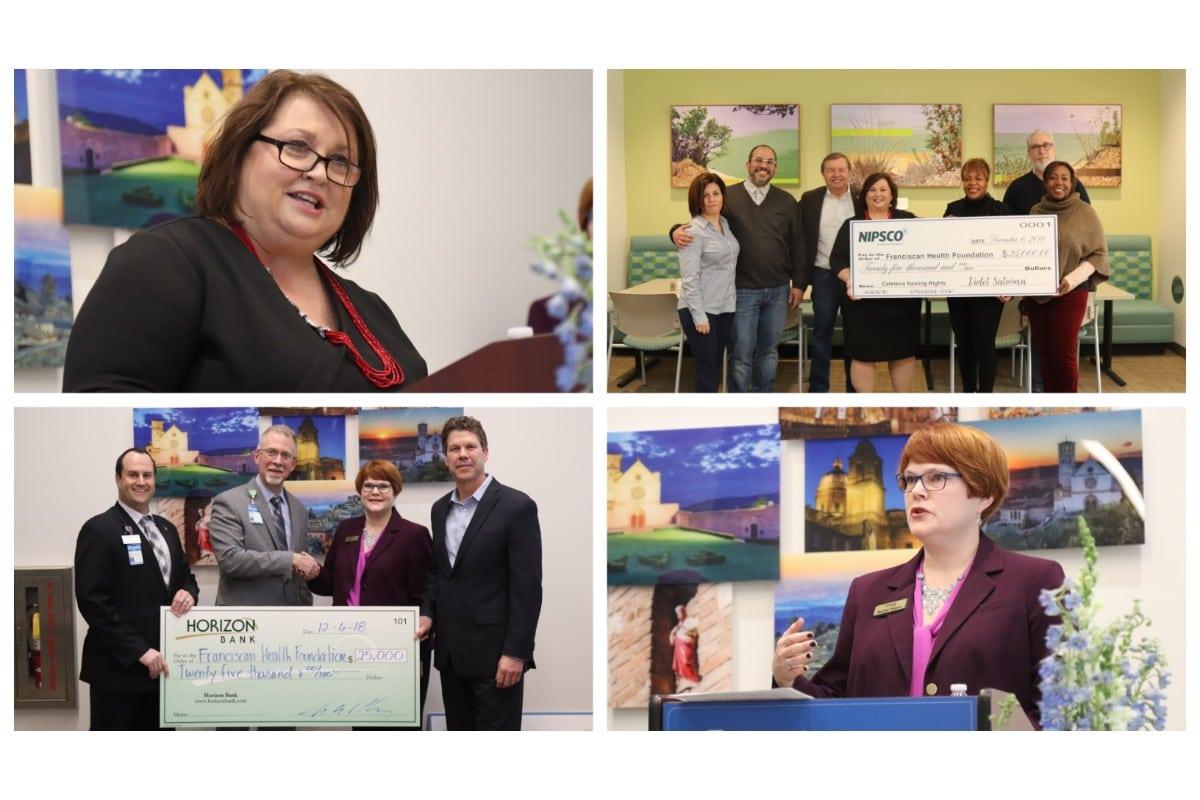 Horizon Bank and NIPSCO Gift $25,000 to New Franciscan Health Michigan City Hospital