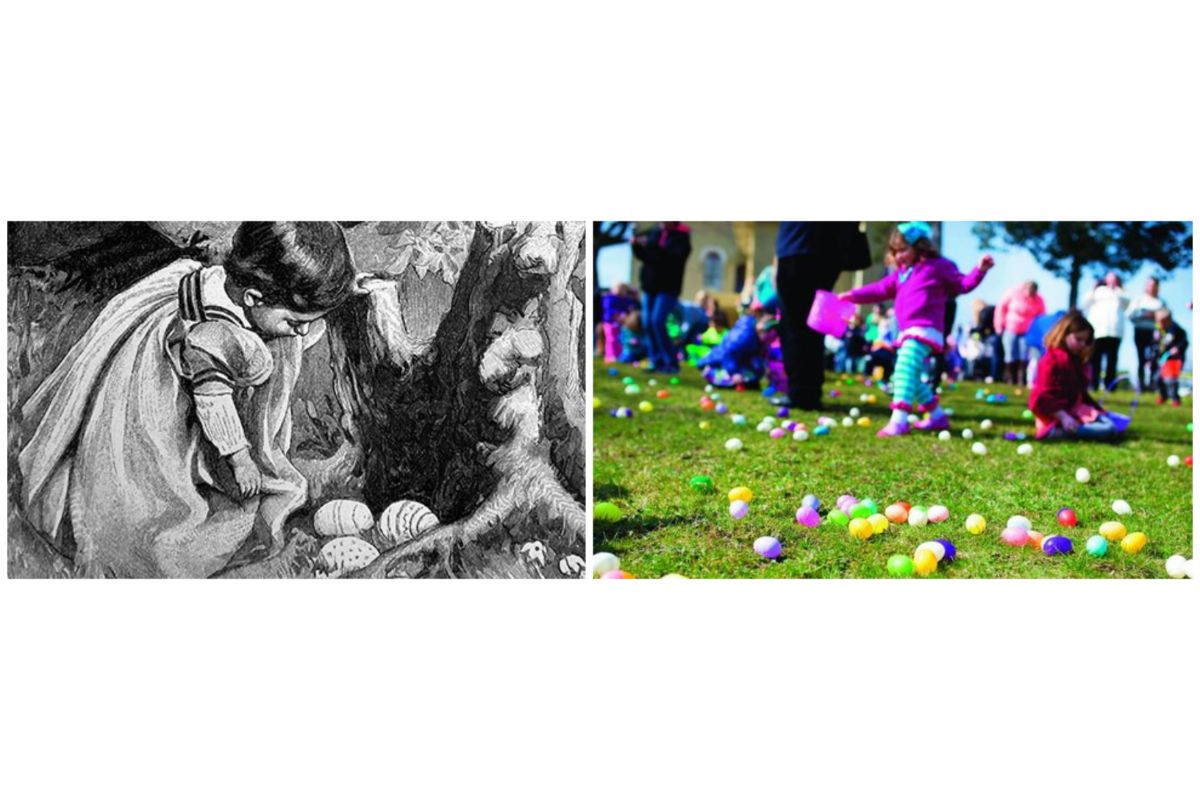 The history of the Easter egg hunt