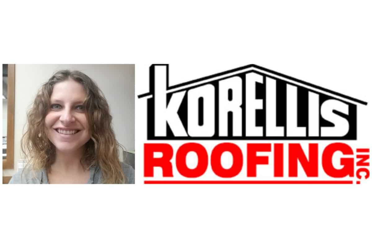 Healthy company culture at Korellis Roofing helps Juli Tattersall soar