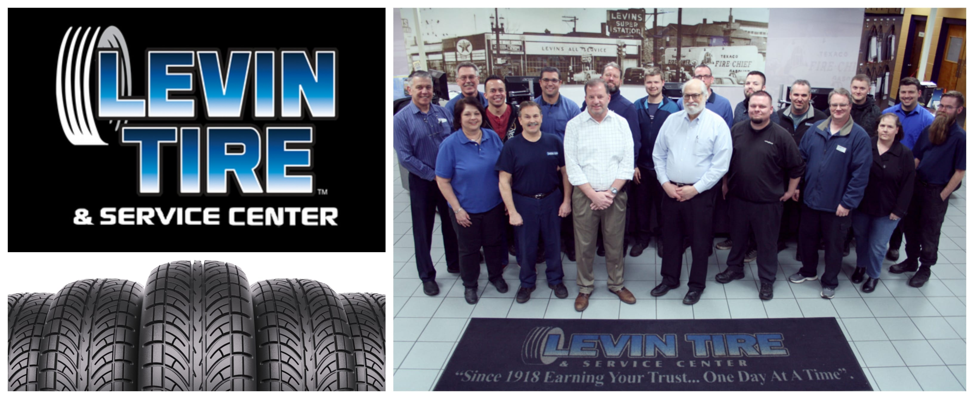 An inside look on working at Levin Tire & Service Center