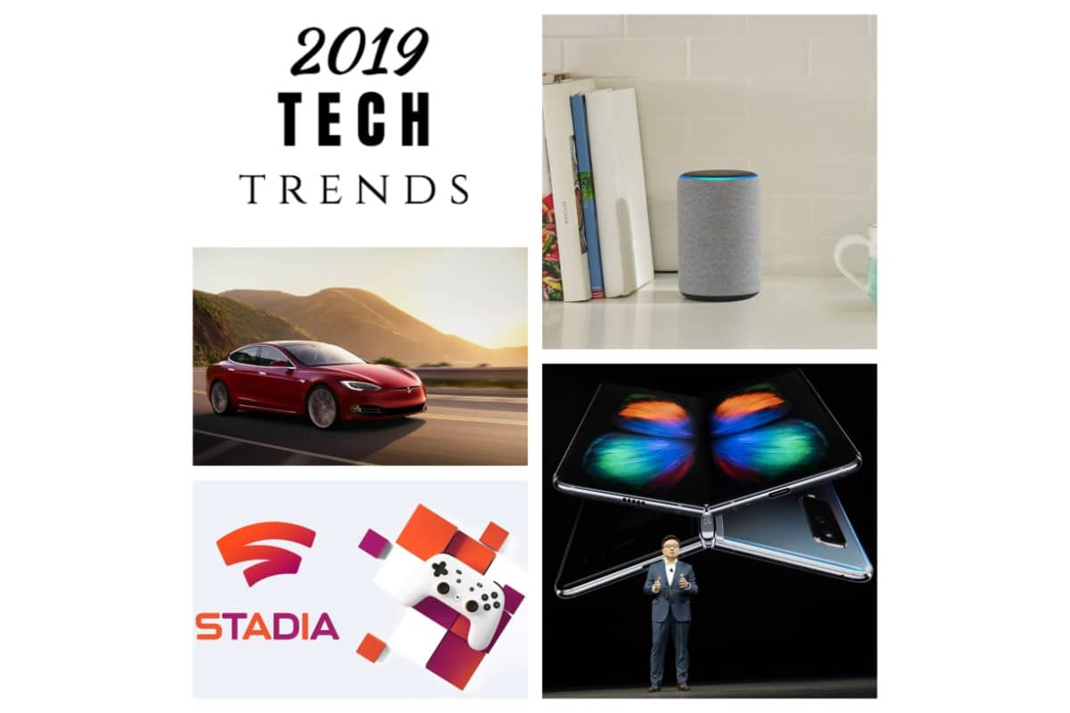 Foldable Phones, Self-Driving Cars, and Other Tech Trends in 2019