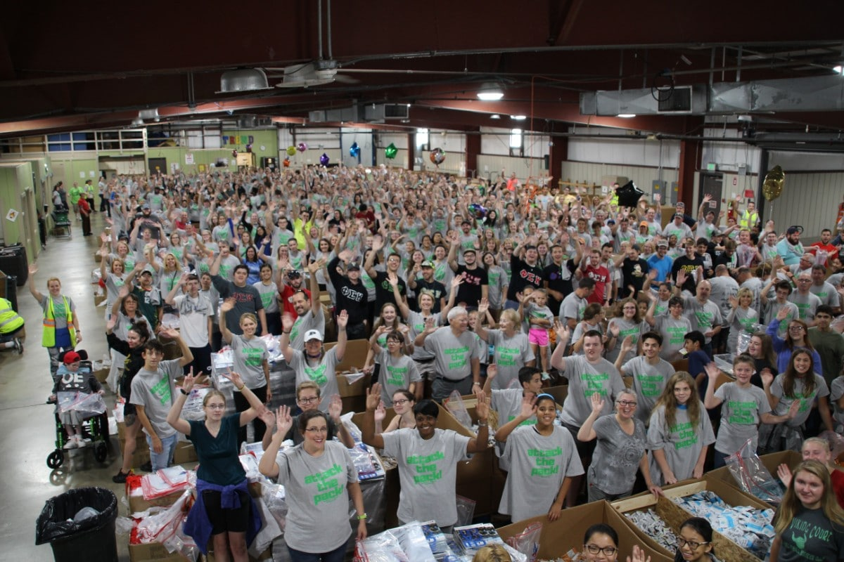 Opportunity Enterprises' 18th Annual Packathon Packs in a Day of Fun, Networking, and Philanthropy