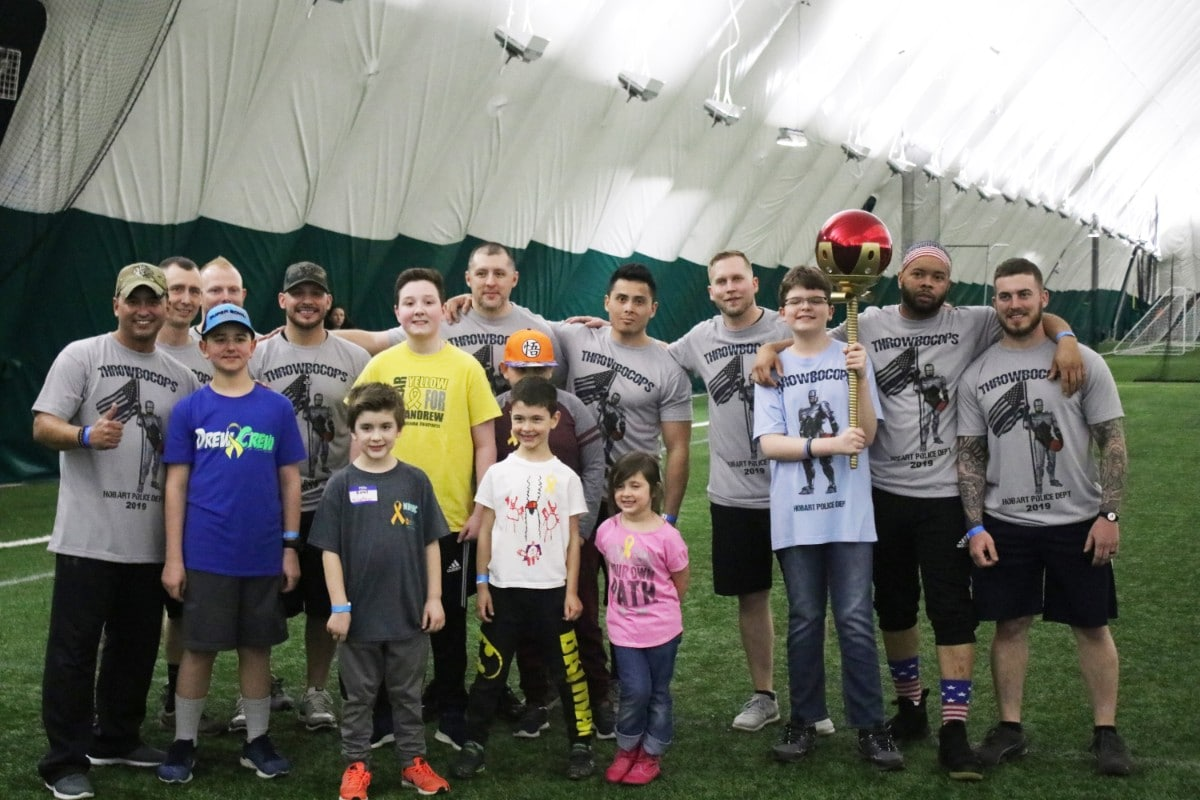 The 2nd Annual Charity Dodgeball Tournament supports the NICK's Foundation