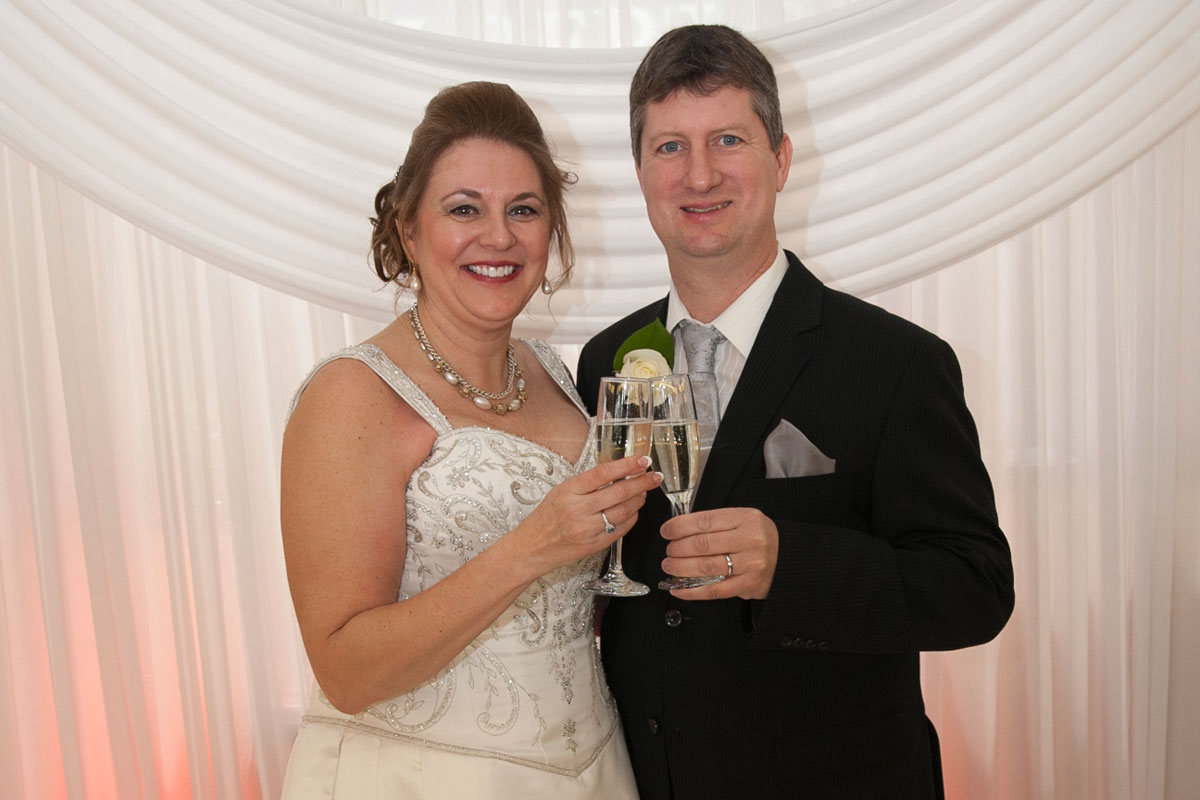 An Albert's Wedding Couple One Year Later: Neighbors to Newlyweds