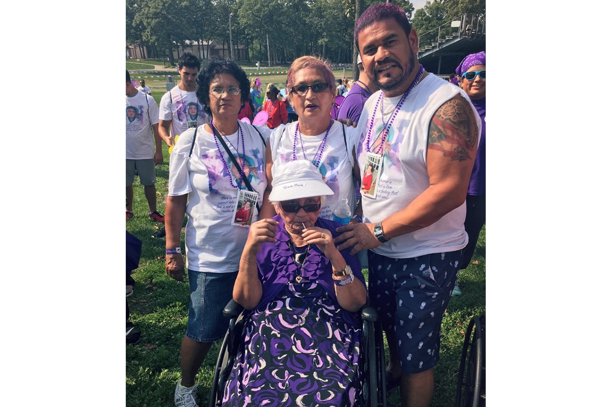 Team Pina Prepares for Alzheimer's Association Greater Indiana Chapter's Walk to End Alzheimer's
