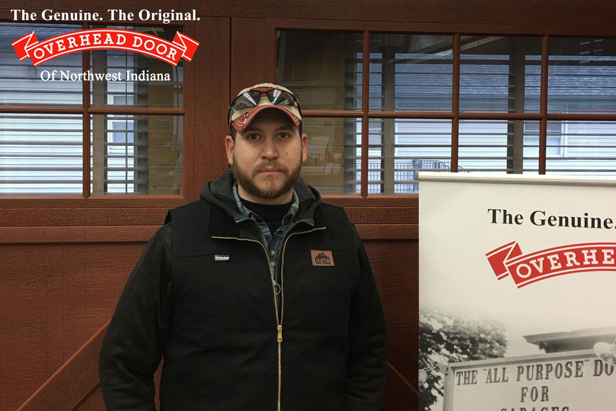 #BehindTheRibbon: Meet Andrew Medrano, Field Technician at Overhead Door of Northwest Indiana